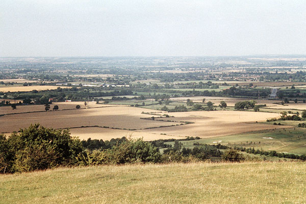 Boer War Memorial, Coombe Hill, Wendover - View from the memorial