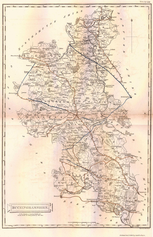 1806 Map of Buckinghamshire