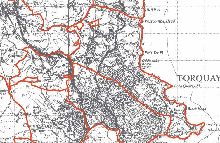 St Marychurch  Map