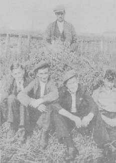 Mr George Jenkins, George Teasdale, Edwin Scott, Lawrence Wills, Frank Scott