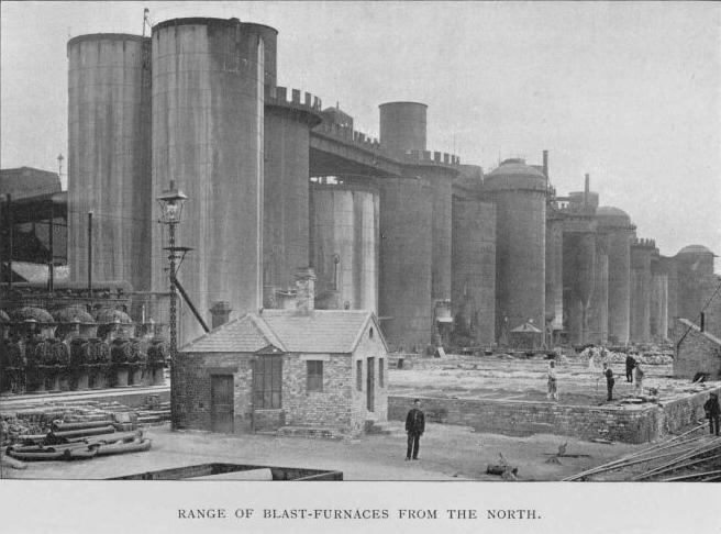 Range of Blast-Furnaces from the North