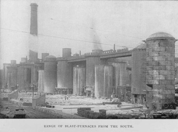 Range of Blast-Furnaces from the South