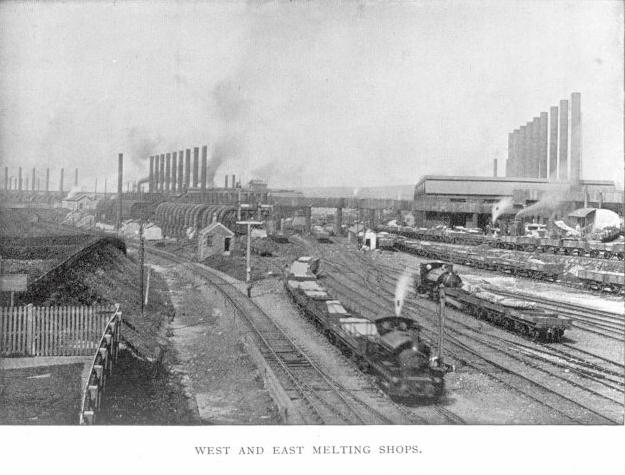 West and East Melting Shops