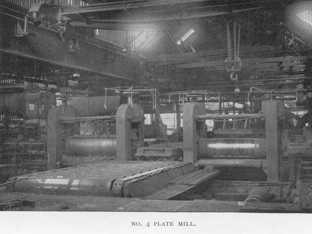 No. 4 Plate Mill