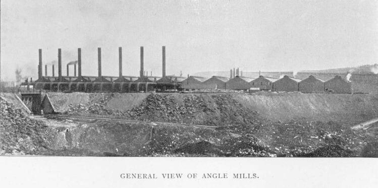 General View of the Angle Mills