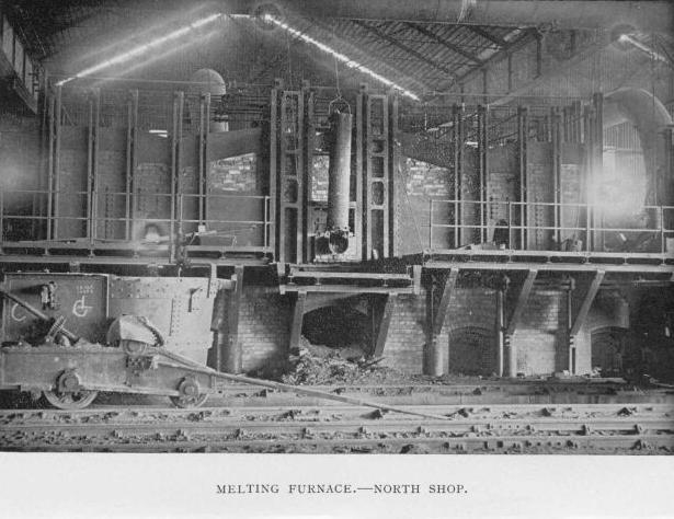 Melting Furnace - North Shop