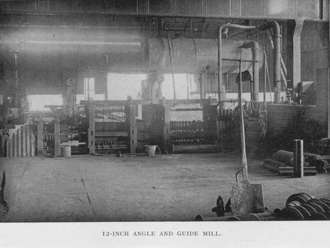 12-Inch Angle and Guide Mill
