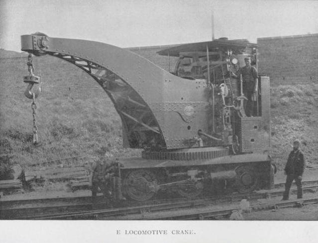E Locomotice Crane