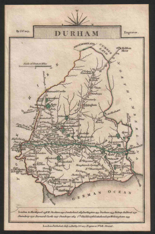 Co Durham in 1806