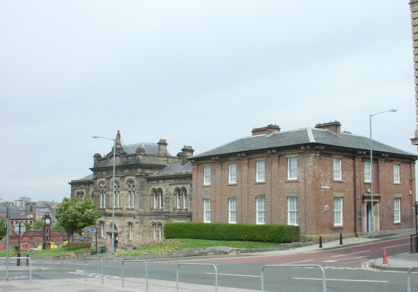 Dispensary and Town Hall, West Street.