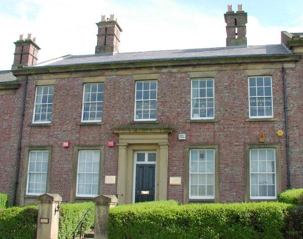 7 Walker Terrace, the offices of solicitors, Swinburne and Jackson. (The same Swinburne family as former Town Clerks, Joseph Willis Swinburne and William Swinburne).