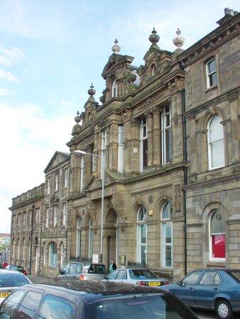 The former Public Library on Swinburne Street (1885).