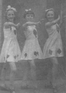 Three Aces of Joan Fartherley's Dancing Troupe