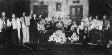 Madame Hutchinson's Band in the Co-op Hall