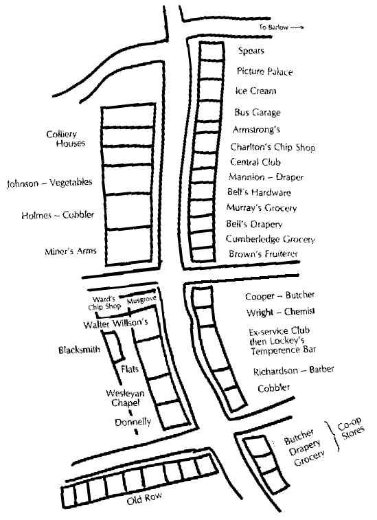 Sketch Map of High Spen