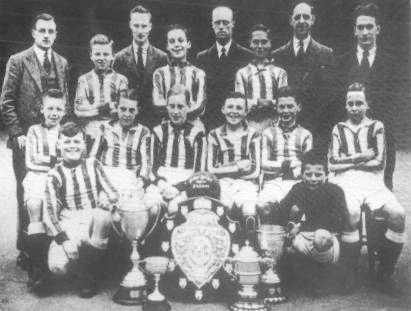 The unbeatable school team of 1931