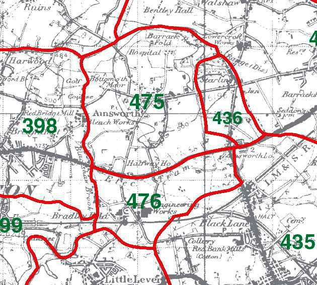 Ainsworth Map