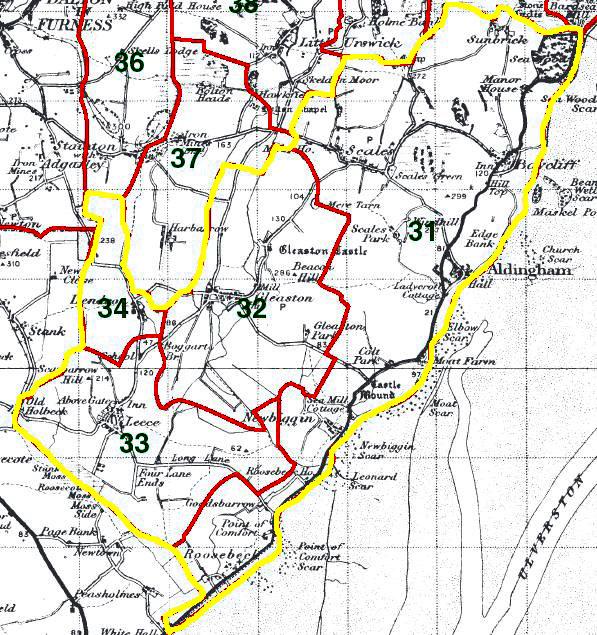 Aldingham Map