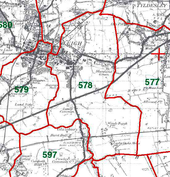 Bedford Map