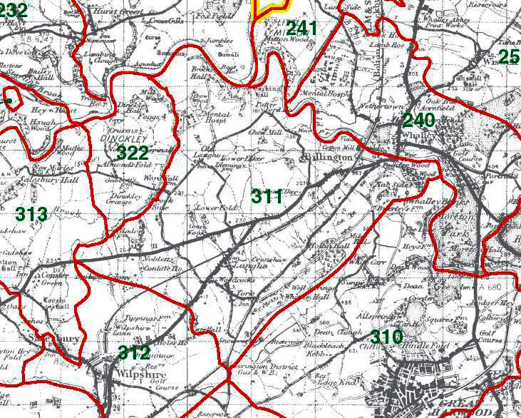 Billington Map