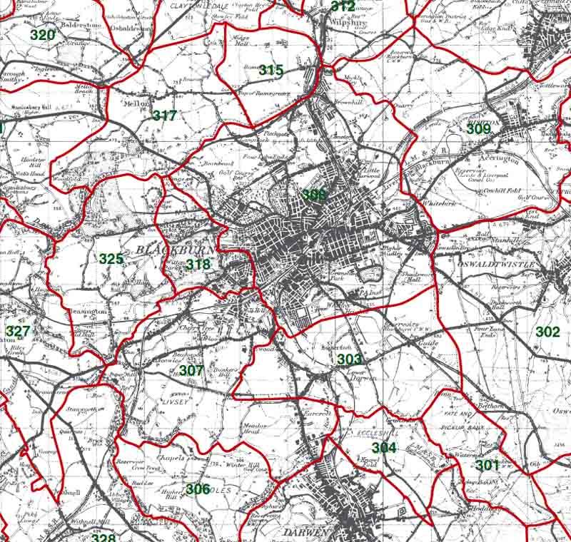Blackburn Map