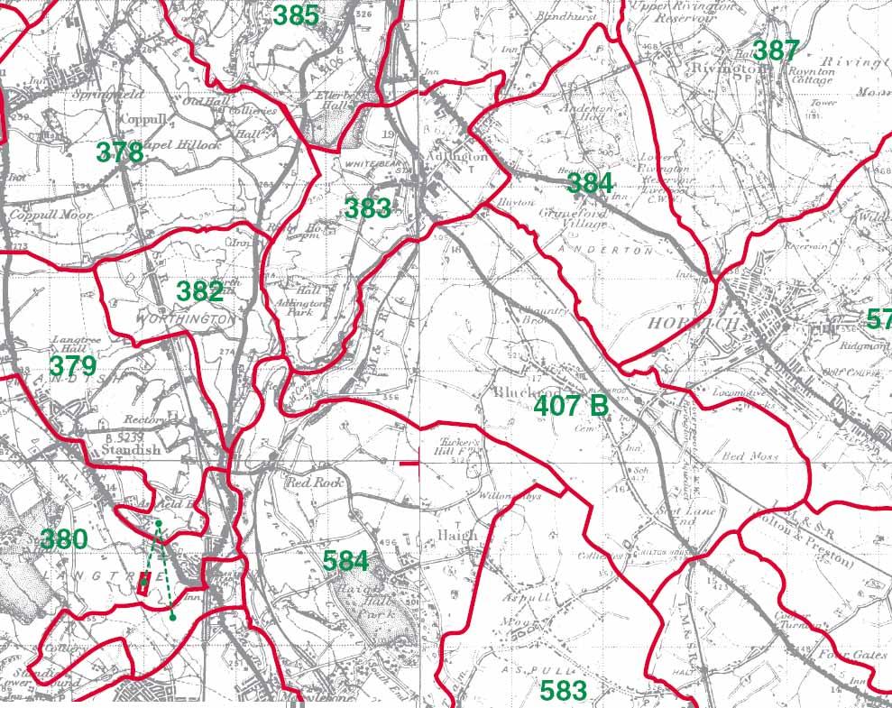 Blackrod Map