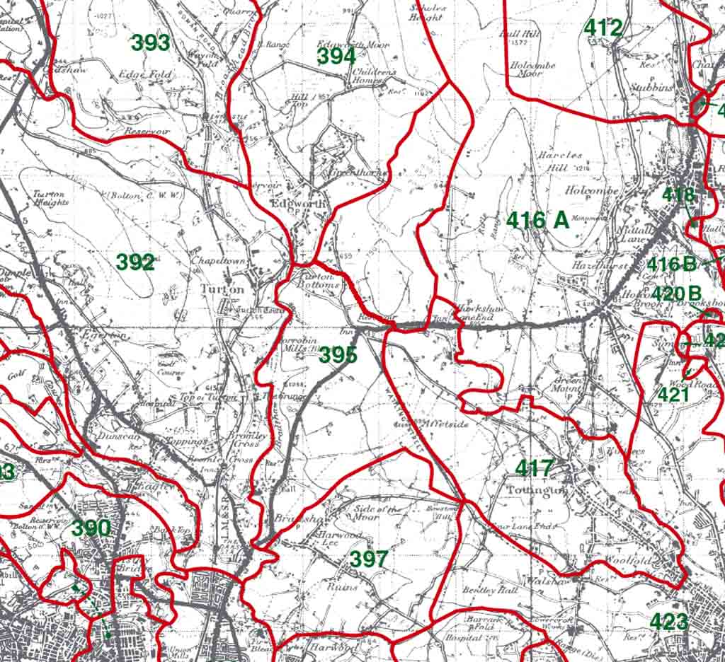 Bradshaw Map