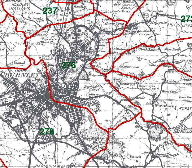 Burnley Map