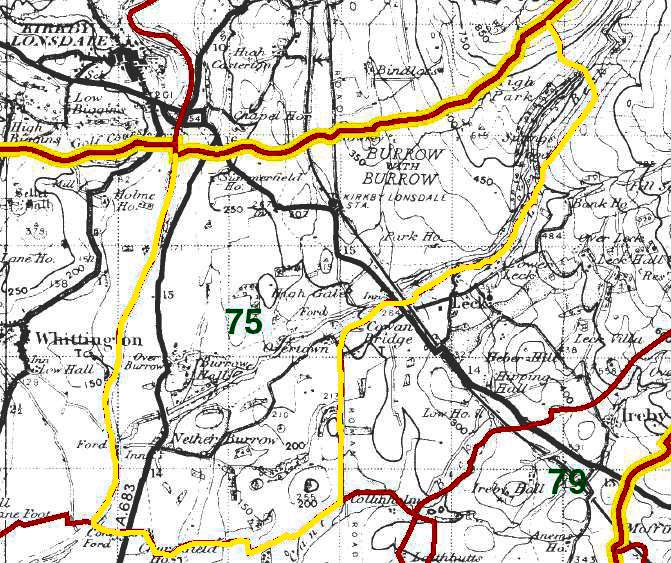 Burrow with Burrow Map
