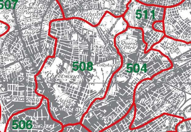 Cheetham Map