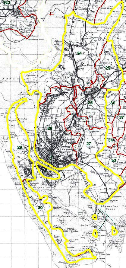 Dalton in Furness Map