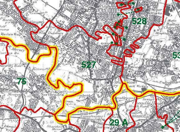Didsbury Map
