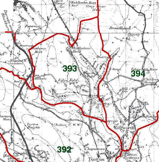Entwistle Map