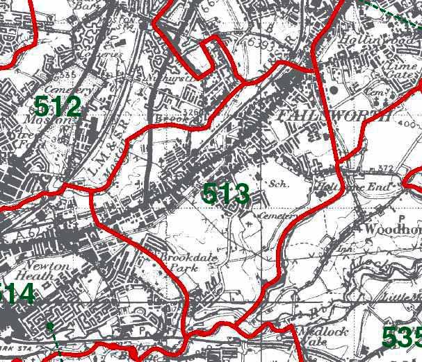 Failsworth Map