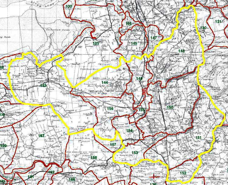 Garstang Map
