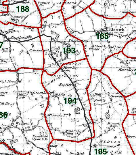 Greenhalgh Map