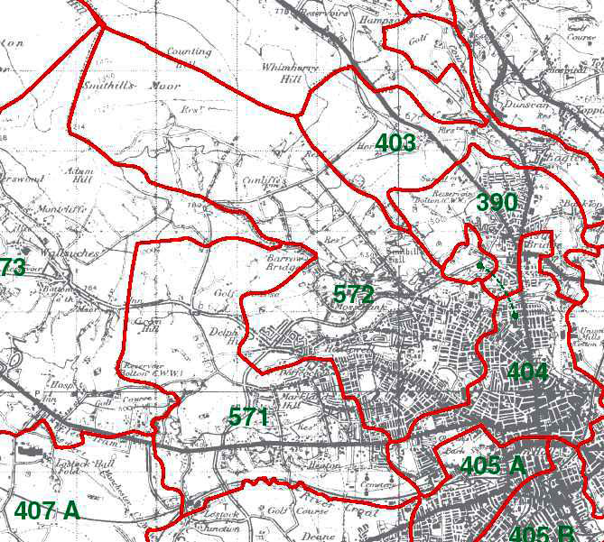 Halliwell Map