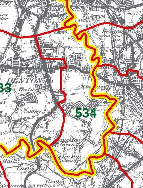 Haughton Map