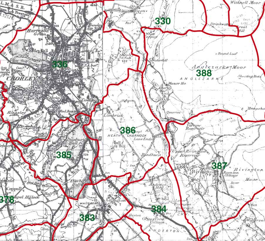 Heath Charnock Map