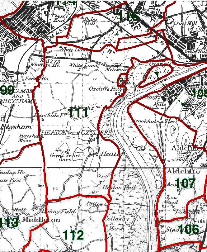 HeatonwithOxcliffe Map