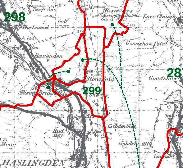 Henheads Map