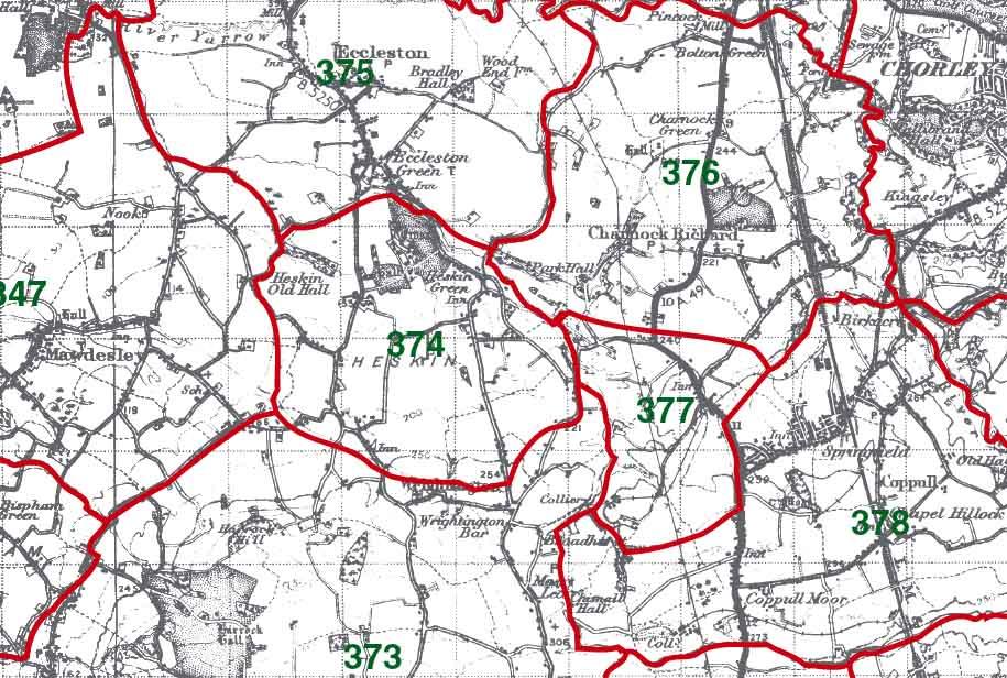 Heskin Map