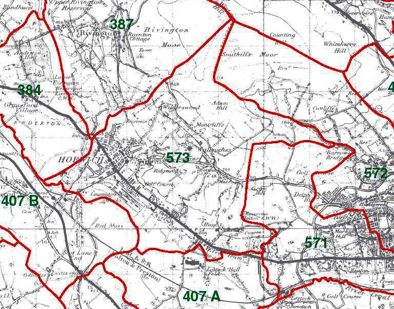Horwich Map