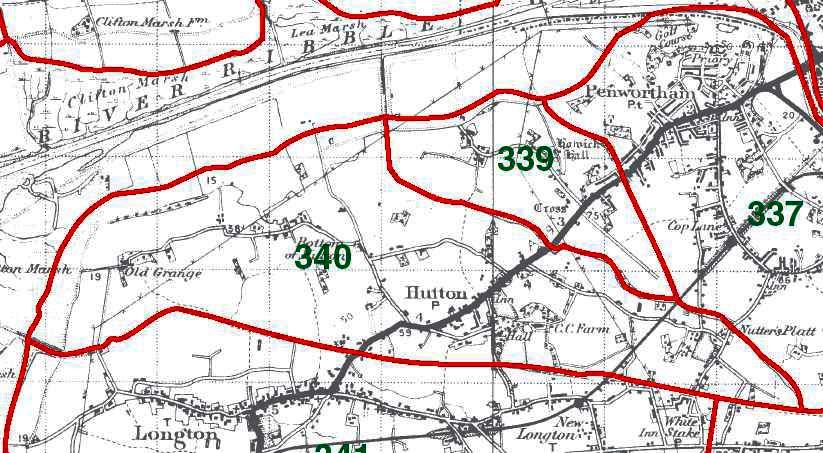 Hutton Map