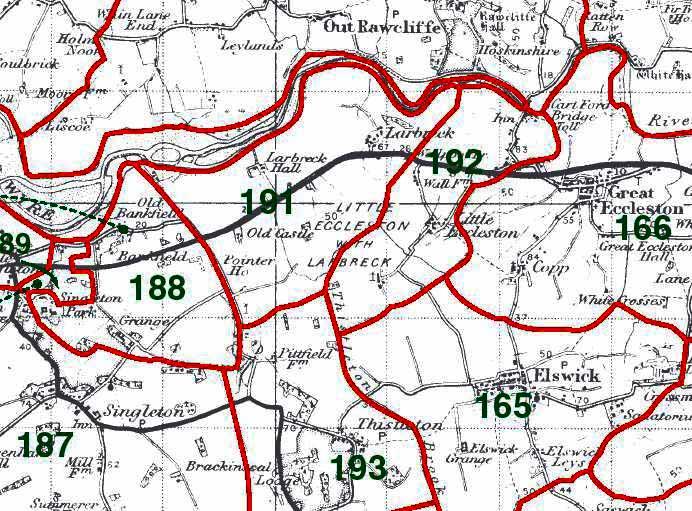Larbreck Map