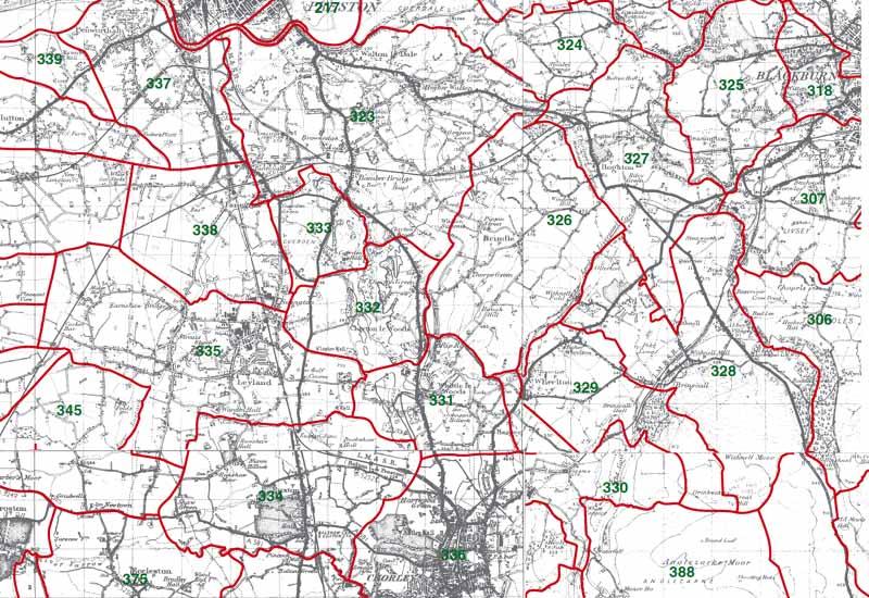 Leyland Map
