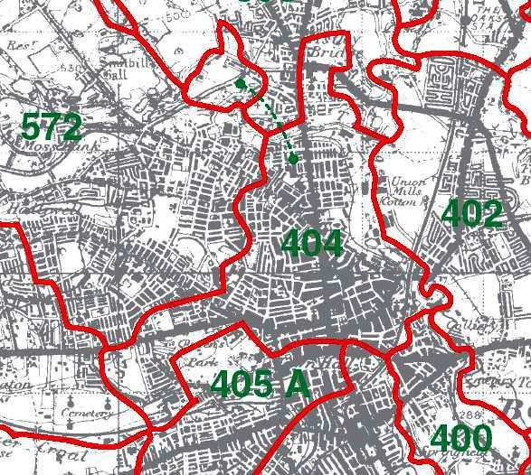 Little Bolton Map