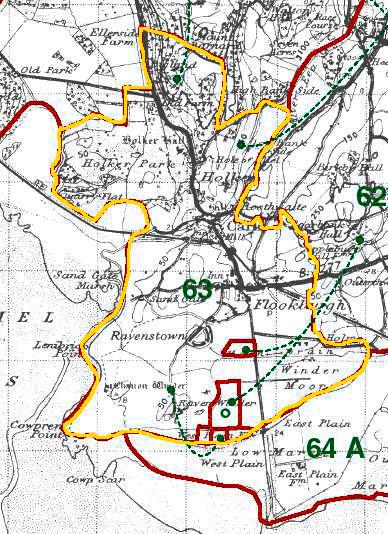 Lower Holker Map