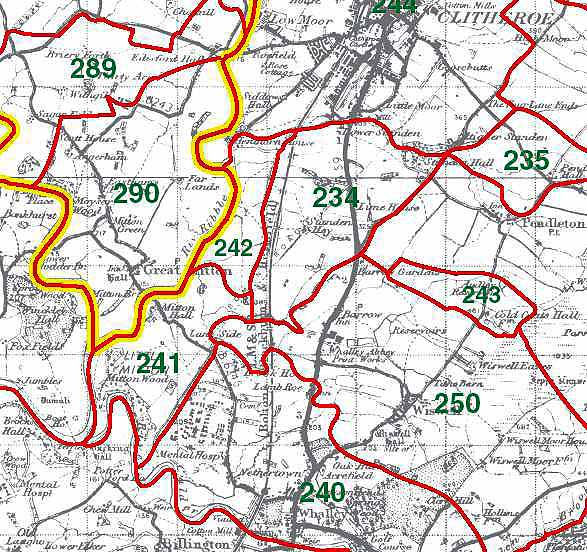 Mitton Map