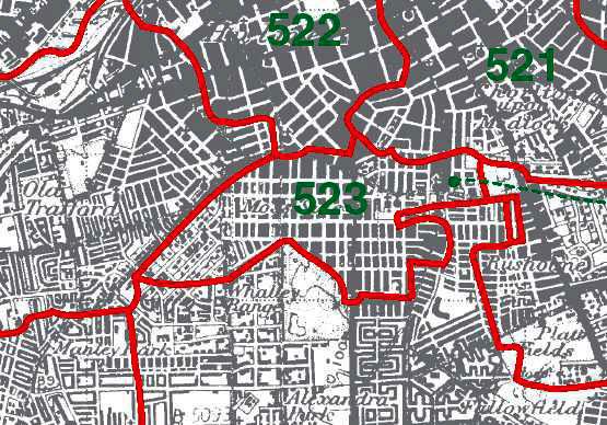 Moss Side Map